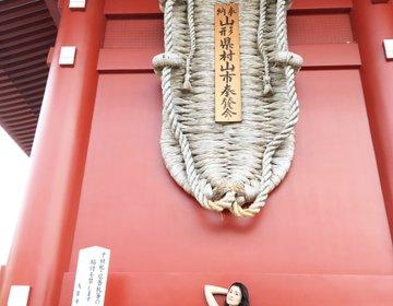 東京を代表する下町浅草へ行こう⭐︎ 絶対楽しいあかりんセレクト⭐︎その3⭐︎