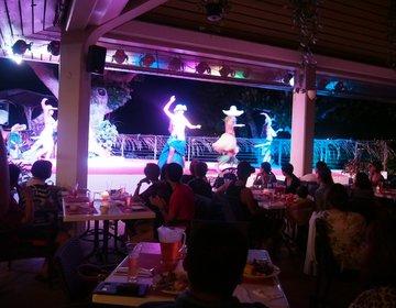 【グアム旅行】グアムヒルトンリゾート&スパで過ごす夜のタモン湾★ツリーバーでBBQとショー