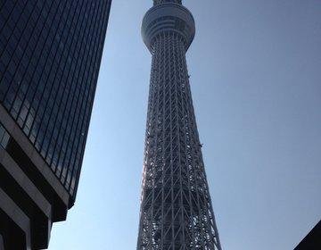 【東京観光】銀座でランチの後はスカイツリーへGO☆人気カフェで夜ごはん&パンケーキ♡