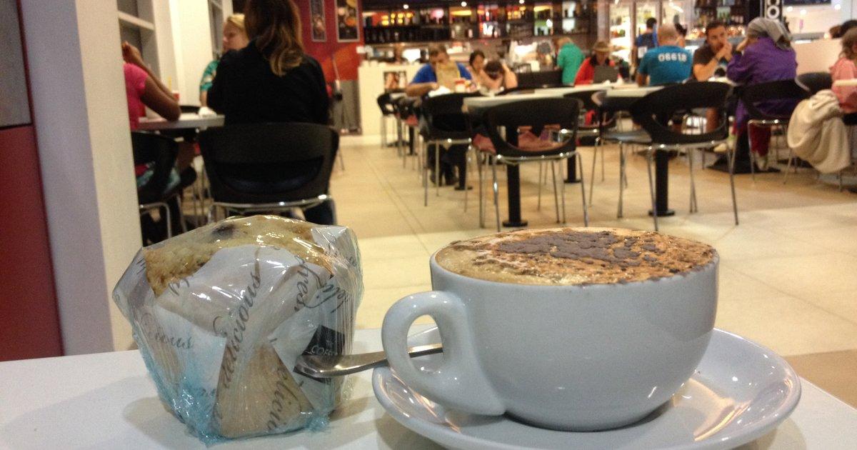 ケアンズ空港‼︎時間潰し ︎【健康志向のマフィン&珈琲】WIFI有@THE COFFEE CLUB