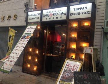 【札幌 狸小路の気になる名店!】女子会にもオススメ!安くて美味しい串焼きが食べたければ仲町ガバチョ!