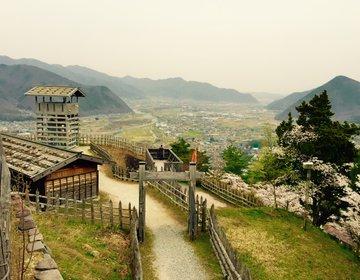 【天空の城好き必見】発見!長野県の天空の城!風林火山や江のロケにも使われた荒砥城跡へ
