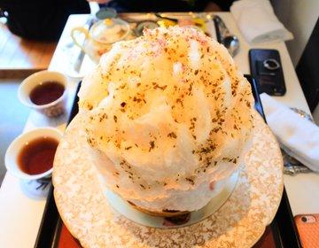 【京都・スイーツ】おもてなしの神!季節関係なく年中食べたい!超人気店たすきのかき氷!