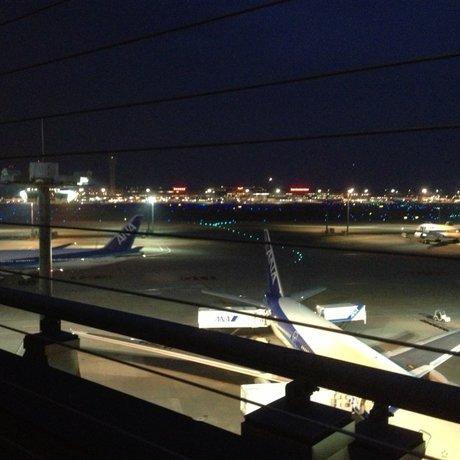 羽田空港 国際線旅客ターミナル 展望デッキ
