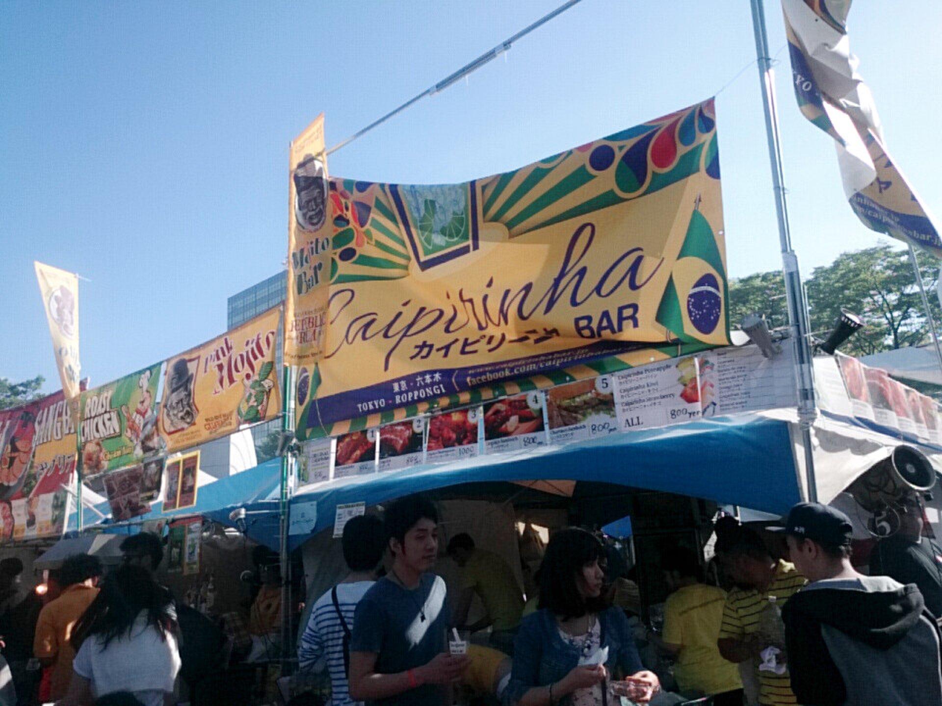 夏はフェスティバルが熱い!  代々木公園の世界各国のフェス!屋台で本場のプレートランチを!