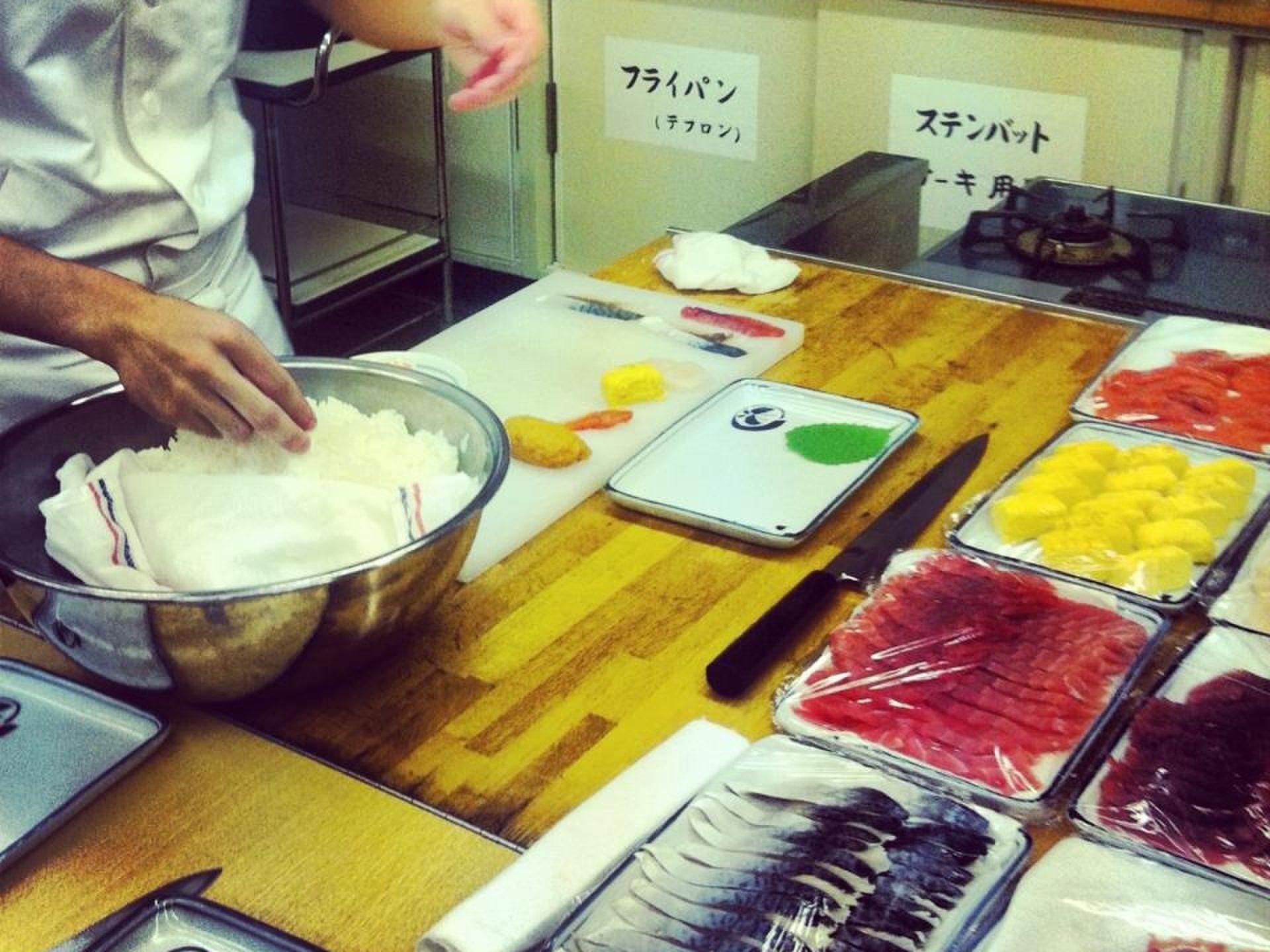 【新宿区のクッキングルーム活用!】職人出張お寿司パーティーからの45階無料展望台
