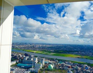 【入場無料】駅直結の45階から見えるスカイツリー アイ・リンク展望施設
