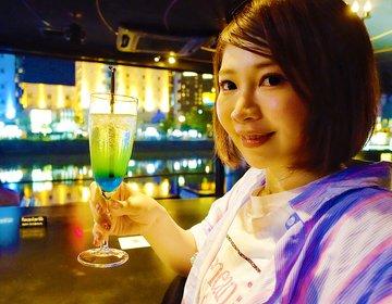 中洲デート、絶対外さないお店。女子なら必ず惚れる?!屋台を見ながら可愛いカクテル