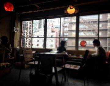 【大阪・中崎町】沿線を眺めながらのカフェが楽しめる!中崎町のディープなレトロカフェ