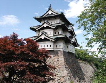 【青森】日本七名城の一つ、弘前城へ行く!