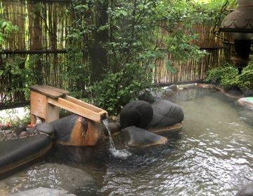大分県日田市《琴平温泉  ゆめ山水》渓流沿いの癒し空間