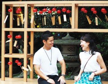 恋人と行きたいNo.1!川越氷川神社の「縁むすび風鈴」で叙情的デート