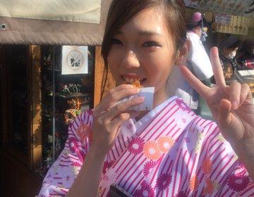 浅草食べ歩きスポット絶対抑えて欲しいお店ベスト3♡