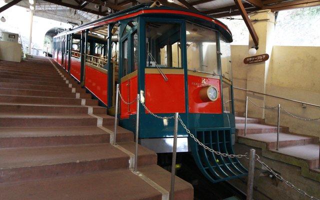 六甲ケーブル下駅 (Rokko Cable Car)