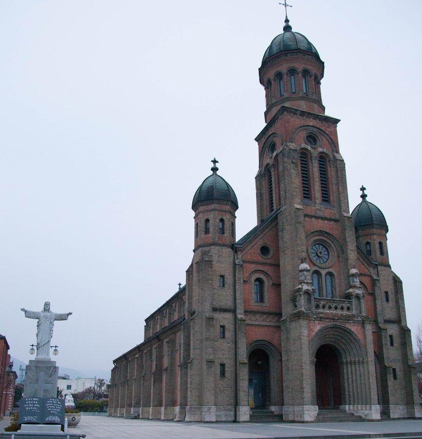 貞洞聖堂(ジョンドンソンダン)
