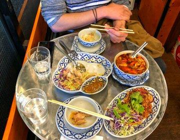 上野アメ横おすすめタイ料理『メーアン』食べログ3.5以上美味しい屋台料理