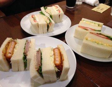 札幌 行列する絶品サンドイッチ喫茶店とほっこりできる日本茶カフェで2000円以下コスパ◎女子会♪
