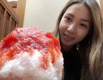 浅草おすすめカフェ♡雷門周辺かき氷のおいしいお店・茶寮