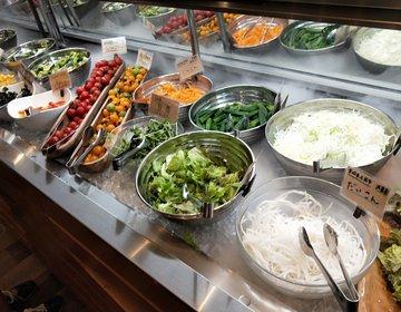 絶品サラダバーに出逢った!新鮮な野菜やごはん食べまくり。水戸駅オススメランチ