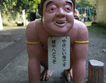 桃太郎神社 桃太郎や鬼たちの奇怪な人形であふれる珍スポット【愛知県・犬山市】