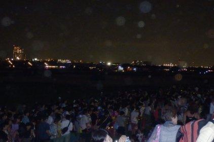江戸川河川敷(都立篠崎公園先)