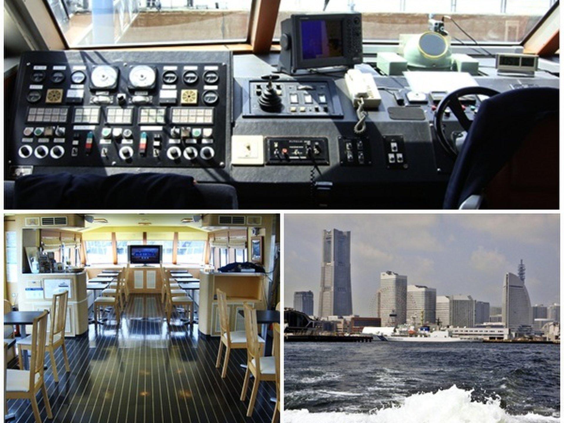 横浜を船上から観光。夜景デートにもおススメ!【横浜港 みなとみらい クルージング】。