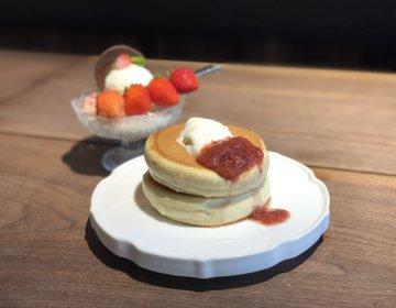 行列のパンケーキ♡1度は行ってみたい椿サロン!銀座おすすめカフェ
