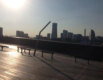 【横浜みなとみらいにあるデートに使える人気スポット「大桟橋」】昼はのんびり夜は夜景が綺麗!