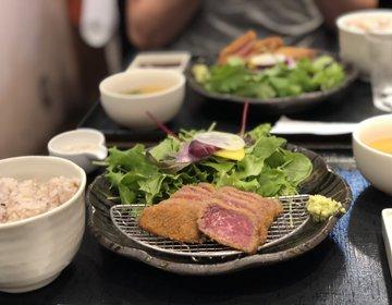 2,000円以下で黒毛和牛『牛カツあおな』上野おすすめディナー