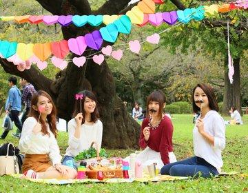【東京ピクニック女子会】おしゃピクに欠かせないおすすめアイテム!
