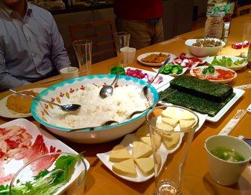【料理男子大集合!】家族や友人と!楽しくお家で巻き寿司パーティー!!