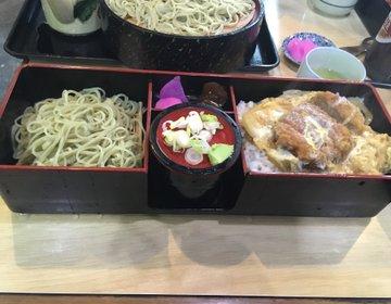 【日光・蕎麦ランチ】地元民が集うメニュー豊富な蕎麦屋さん「やぶ定」