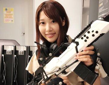 【秋葉原】日本初上陸!ウォーキング型VRでアクション映画の世界観に没入!