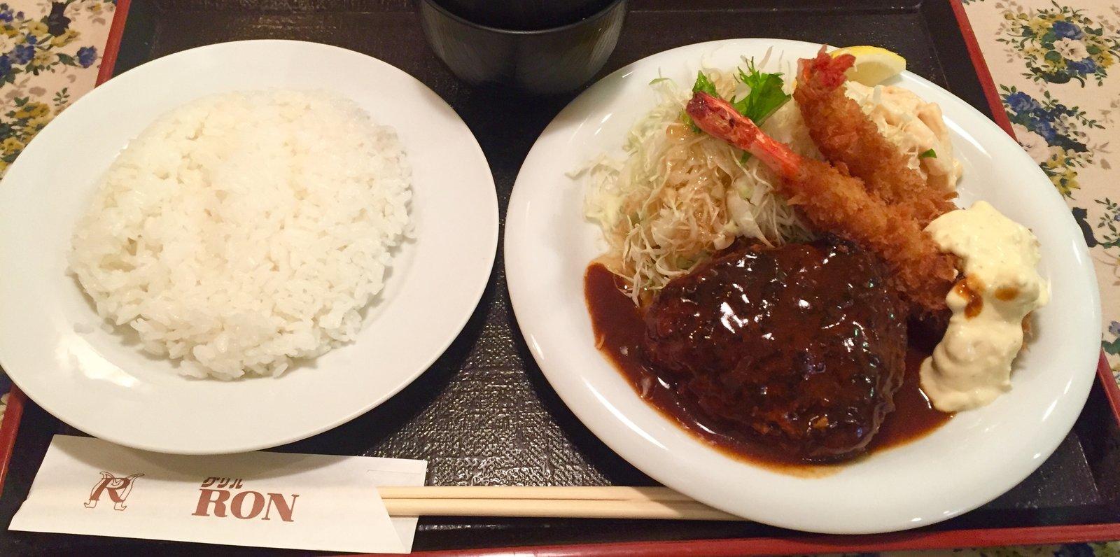 グリル ロン 阪急三番街店