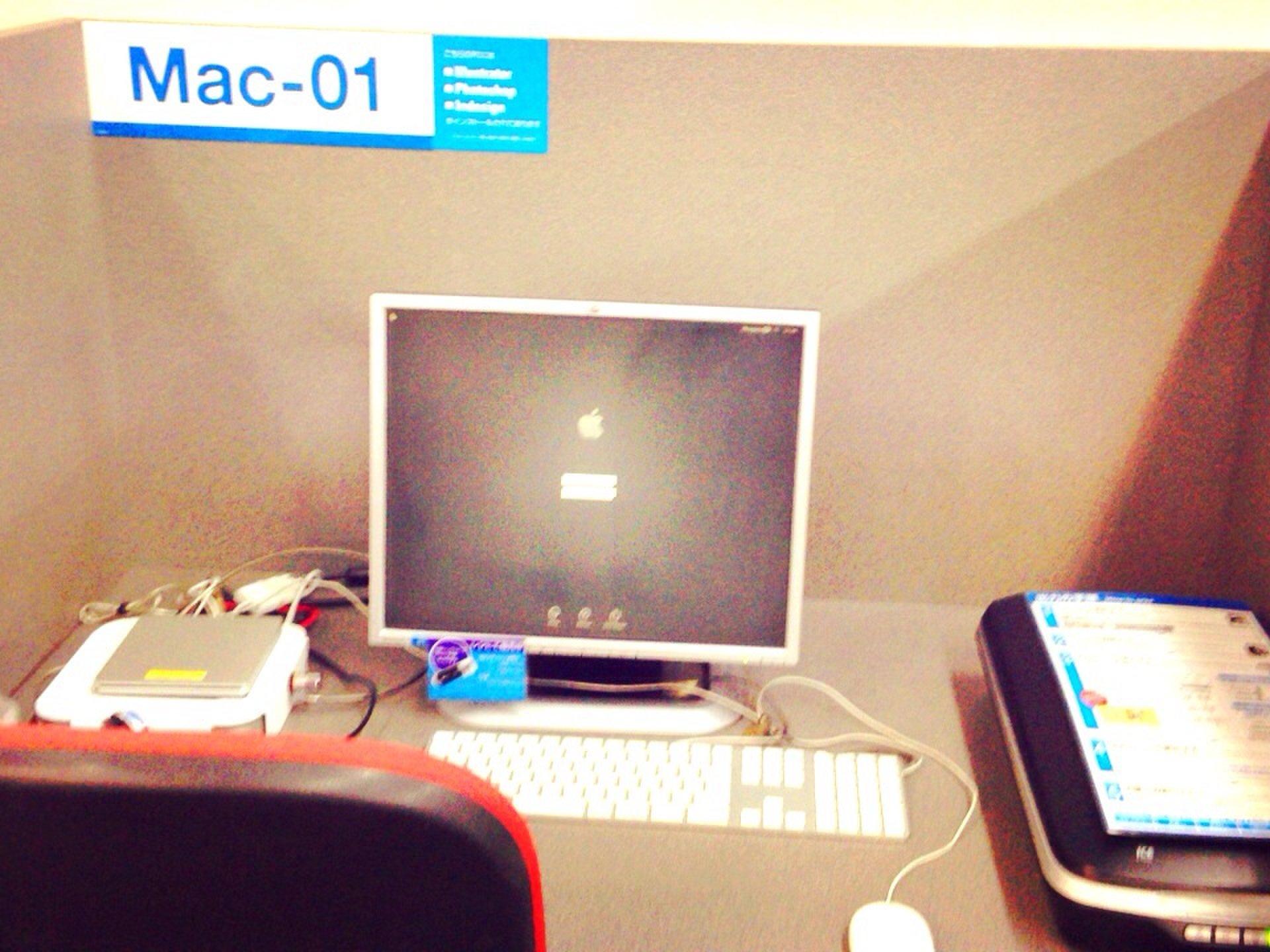 【24時間営業!印刷の専門店】渋谷、新宿、池袋にあるパソコンが使える作業スペース♪