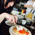 代官山 パンケーキ カフェ Clover's