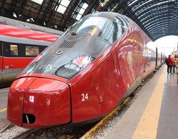 乗り鉄さんに♪【イタリア】ミラノ~フィレンツェをイタリアの新幹線ITALOで優雅に移動♪