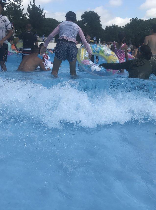 川越水上公園 プール