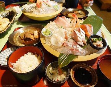 【駅徒歩5分・食べログ3.56の激ウマお刺身御膳】地魚料理がいっぱいある「まるさん屋」で幸せ気分♪
