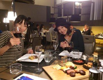 2017秋マリオットホテルオリジナルグレードヴィンテージワインとグリル料理コラボ!と、カレーパンw