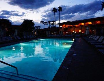 砂漠の中のオアシス!パームスプリングスのロマンティックなリゾートホテルでバカンス☆