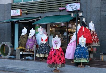 韓国伝統衣裳体験
