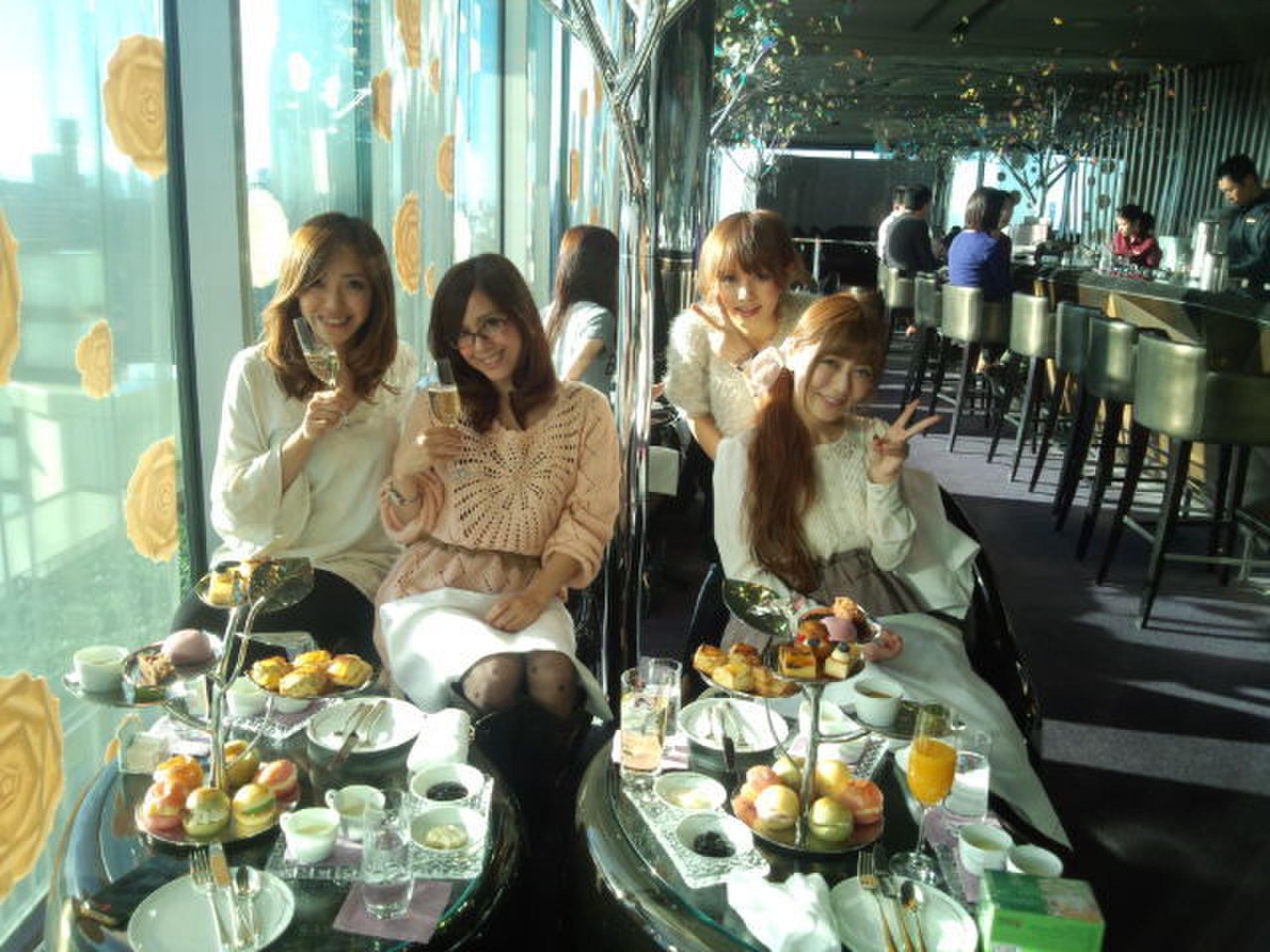 ザ・ペニンシュラホテル東京の「Peter」でアフタヌーンティー女子会