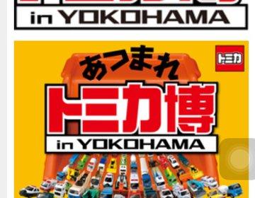 【夏休みにオススメ】今年もパシフィコ横浜にやってきた!あつまれトミカ博 はたらくクルマ大集合!