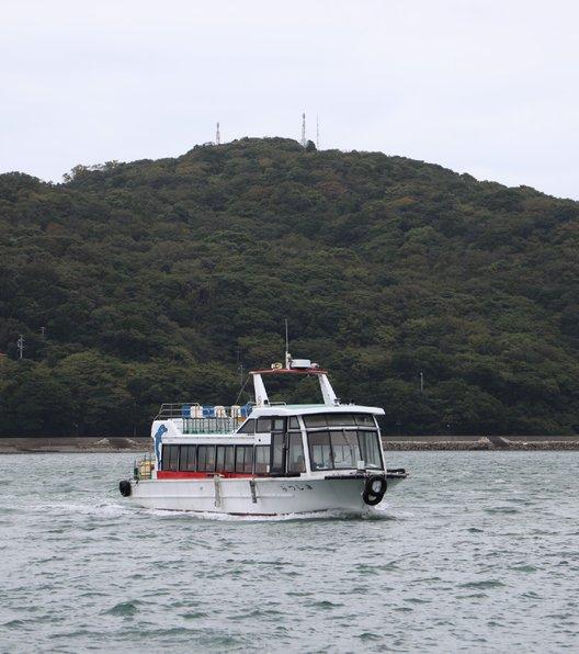 鳥羽湾めぐりとイルカ島 観光船