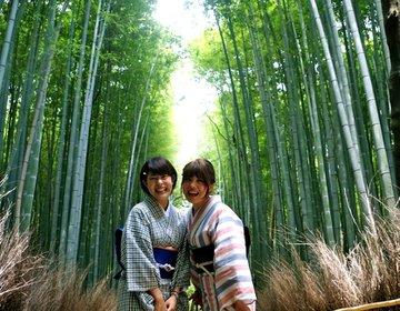 【夏のお着物デート!】はんなり京都の嵐山でおすすめランチスポット!観光で人気の竹林鑑賞も