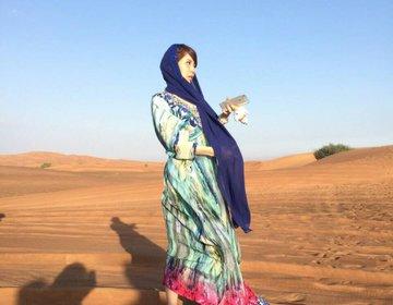 ドバイのデザートサファリは見た目が大事♡DUBAI♡砂漠でスノボと滑り台。砂漠観光。