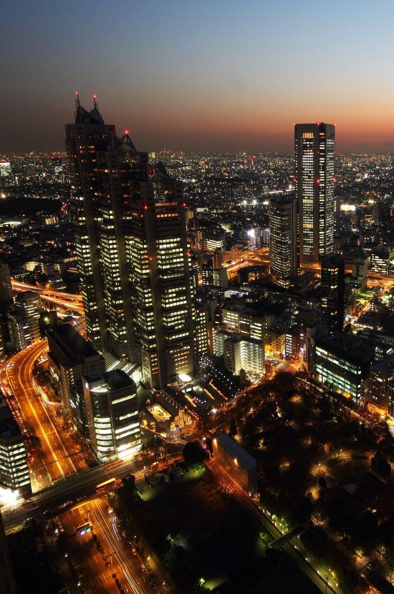 東京都庁 北展望室