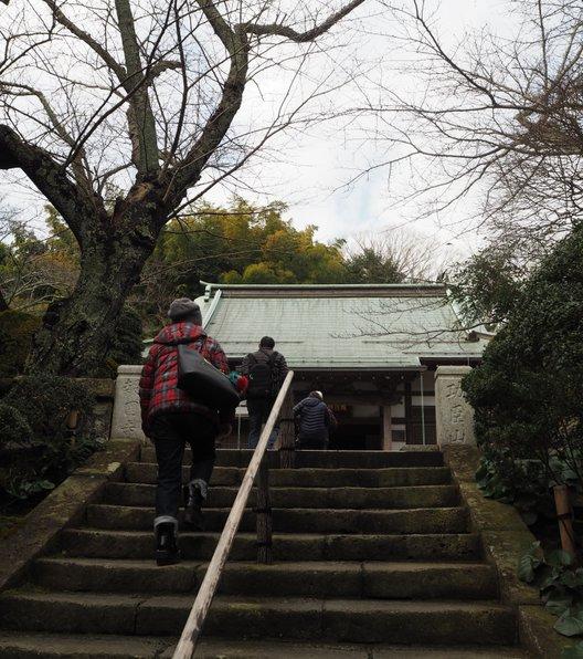 報国寺 本堂