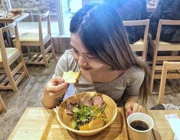 船橋駅おすすめランチ♡女性に人気・ヘルシーサラダとシフォンおすすめ店